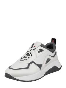 Buty sportowe Hugo Boss sznurowane ze skóry