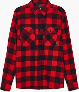 Czerwona koszula Cropp w stylu casual