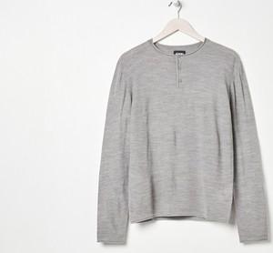 Sweter Sinsay z okrągłym dekoltem w stylu casual