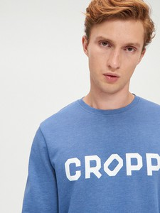 Niebieska bluza Cropp