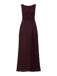 Sukienka Christian Berg Cocktail bez rękawów z okrągłym dekoltem maxi