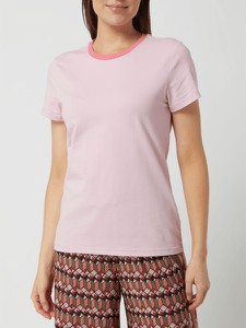 Różowa bluzka Joseph Janard z bawełny