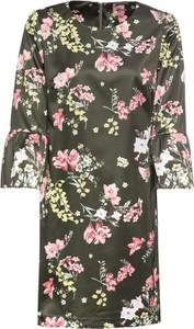 Sukienka bonprix BODYFLIRT w stylu casual dopasowana z krótkim rękawem