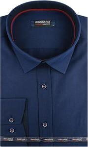 Koszula Massaro z długim rękawem z tkaniny