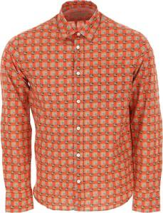 Pomarańczowa koszula Burberry