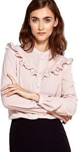 Bluzka Nife z okrągłym dekoltem w stylu casual