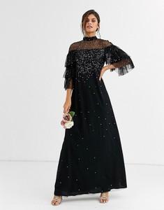 Sukienka Maya z długim rękawem maxi