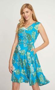 Sukienka QUIOSQUE bez rękawów z dekoltem w kształcie litery v