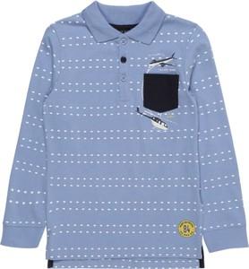 Koszulka dziecięca Blue Seven z bawełny