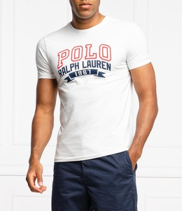 T-shirt POLO RALPH LAUREN w młodzieżowym stylu z krótkim rękawem