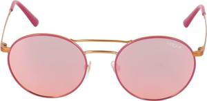 Różowe okulary damskie Vogue