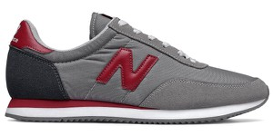 Buty sportowe New Balance z płaską podeszwą z zamszu