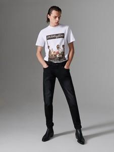 T-shirt Reserved z krótkim rękawem z nadrukiem