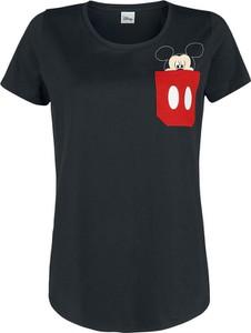 T-shirt Myszka Miki I Minnie z bawełny z krótkim rękawem w stylu casual