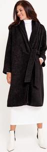 Czarny płaszcz Byinsomnia w stylu casual