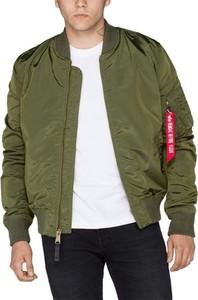 Zielona kurtka Alpha Industries w stylu casual