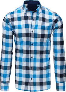 Koszula Dstreet w stylu casual z bawełny z klasycznym kołnierzykiem