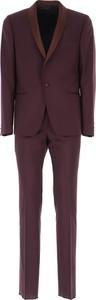 Fioletowy garnitur Paul Smith z moheru