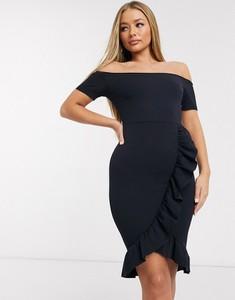Sukienka Ax Paris mini hiszpanka z krótkim rękawem