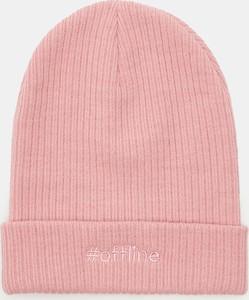Różowa czapka Sinsay