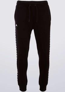 Czarne spodnie sportowe Kappa