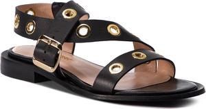 Sandały L37 ze skóry w stylu casual z płaską podeszwą