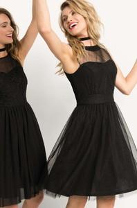 Sukienka ORSAY z tiulu rozkloszowana bez rękawów