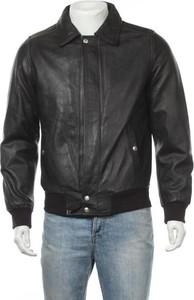 Czarna kurtka SCHOTT ze skóry krótka