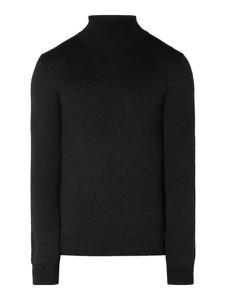 Czarny sweter Christian Berg Men z wełny