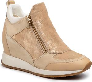 Sneakersy Geox na zamek