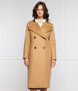 Płaszcz Hugo Boss w stylu casual z kaszmiru