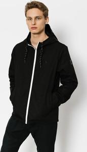 Czarna kurtka Element w stylu casual z bawełny