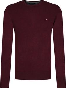 Czerwony sweter Tommy Hilfiger z kaszmiru w stylu casual