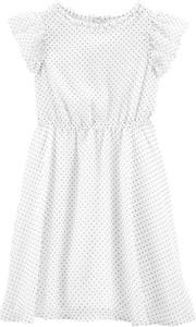 Sukienka dziewczęca OshKosh w groszki