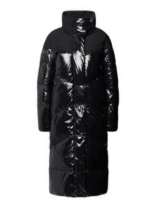 Czarny płaszcz Marc Cain bez kaptura w stylu casual
