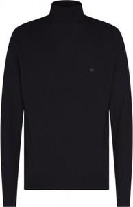 Czarny sweter Calvin Klein w stylu casual