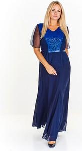 Sukienka M&sz z tkaniny maxi