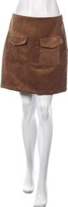 Brązowa spódnica Trendyol mini