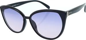 Granatowe okulary damskie Polarzone