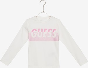 Bluzka dziecięca Guess z bawełny