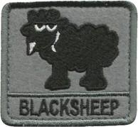 Plakietka Haasta Haft Black Sheep (PHBS)