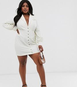 Sukienka Skylar Rose Plus ze skóry ekologicznej