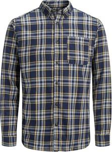 Koszula Jack & Jones z klasycznym kołnierzykiem w stylu casual z bawełny