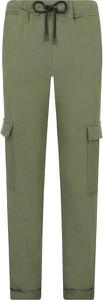 Spodnie sportowe NA-KD z dresówki w młodzieżowym stylu