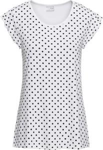 T-shirt bonprix BODYFLIRT z dżerseju z krótkim rękawem