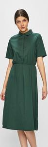 Sukienka Vila w stylu casual z krótkim rękawem z bawełny