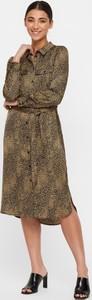 Sukienka WARESHOP z długim rękawem midi
