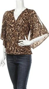 Brązowa bluzka Jbs w młodzieżowym stylu z długim rękawem