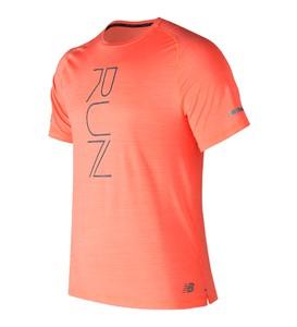 Różowa koszulka New Balance