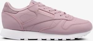 Buty sportowe Reebok z płaską podeszwą sznurowane w sportowym stylu